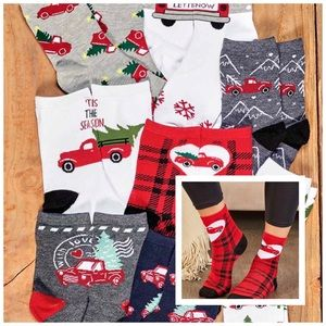 NWT! 8 Pair of Women's Whimsical Truck Socks